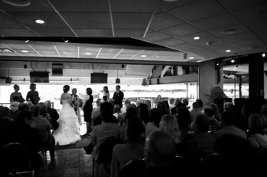 15 Milwaukee LGBT Wedding Photography   Miller Park   Nicole and Kristin