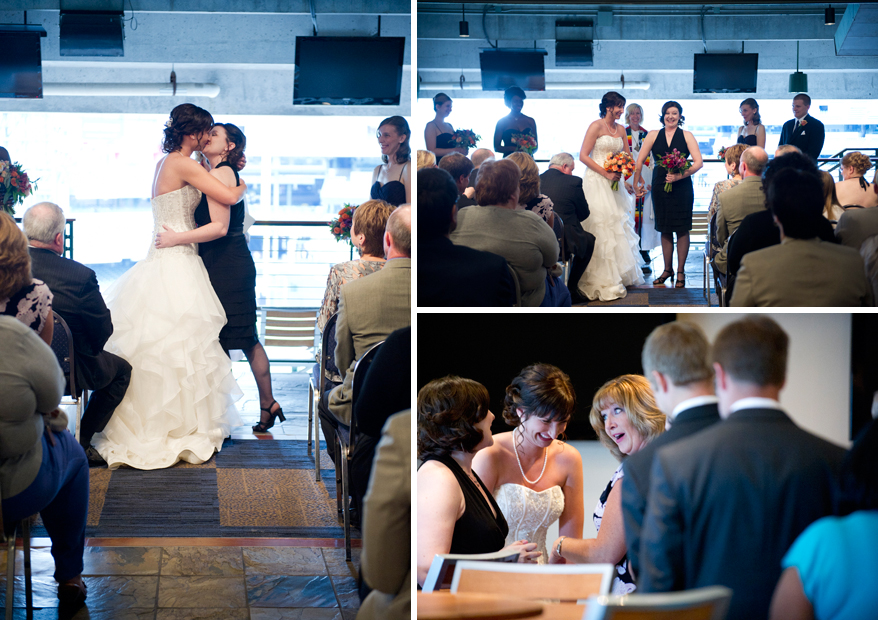 20 Milwaukee LGBT Wedding Photography   Miller Park   Nicole and Kristin