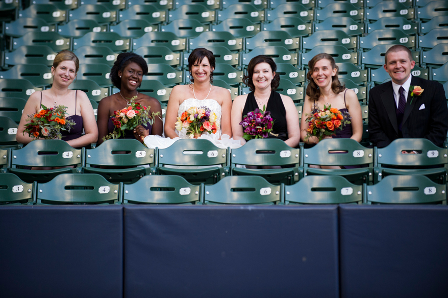211 Milwaukee LGBT Wedding Photography   Miller Park   Nicole and Kristin