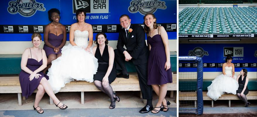 25 Milwaukee LGBT Wedding Photography   Miller Park   Nicole and Kristin
