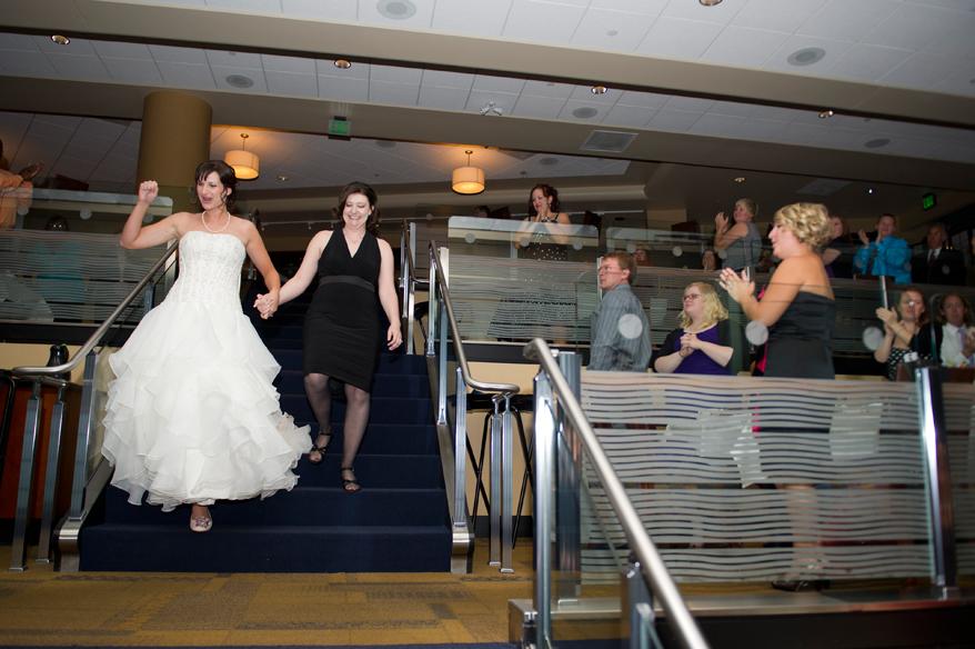 36 Milwaukee LGBT Wedding Photography   Miller Park   Nicole and Kristin