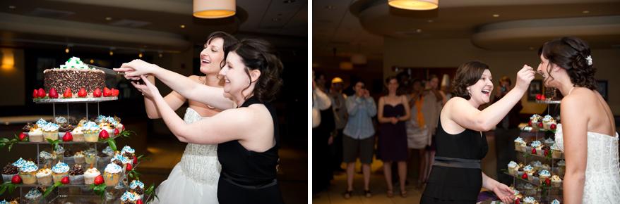 37 Milwaukee LGBT Wedding Photography   Miller Park   Nicole and Kristin