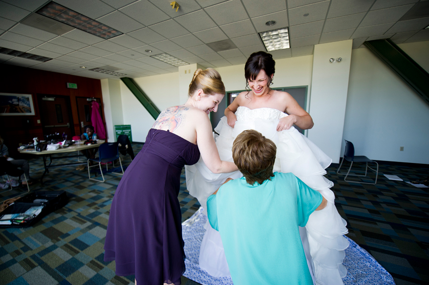 5 Milwaukee LGBT Wedding Photography   Miller Park   Nicole and Kristin