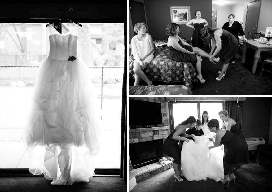 2 WI Dells Fall Wedding Photographer   Wilderness Hotel and Resort   Theresa and Justin