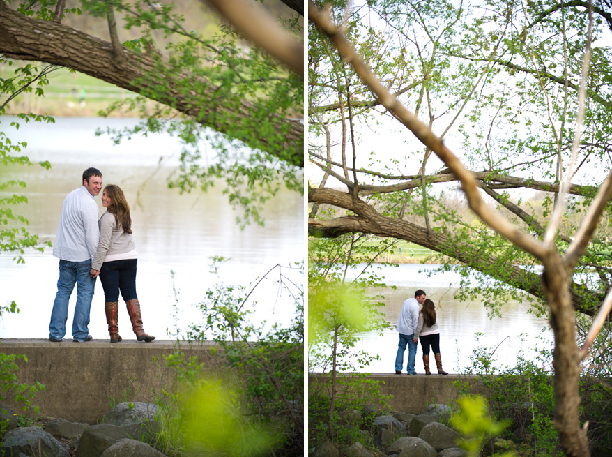 6 Amber and Caseys Milwaukee Engagement Photos