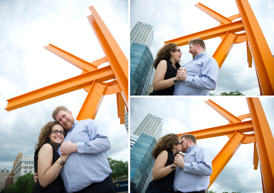 101 Milwaukee Engagement Photos Amy and Justin