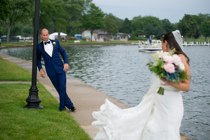 45 Lake Lawn Resort Wedding Photographer   Jewish Wedding Milwaukee   Danny and Susan