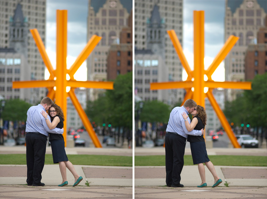 91 Milwaukee Engagement Photos Amy and Justin