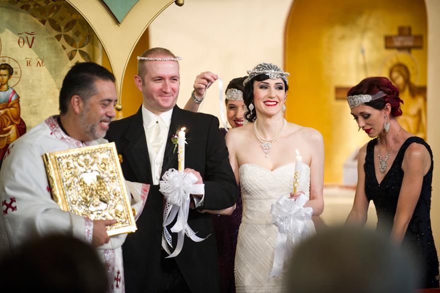 182 Greek Orthodox Wedding Milwaukee Hilton Vegan Non Traditional Gatsby