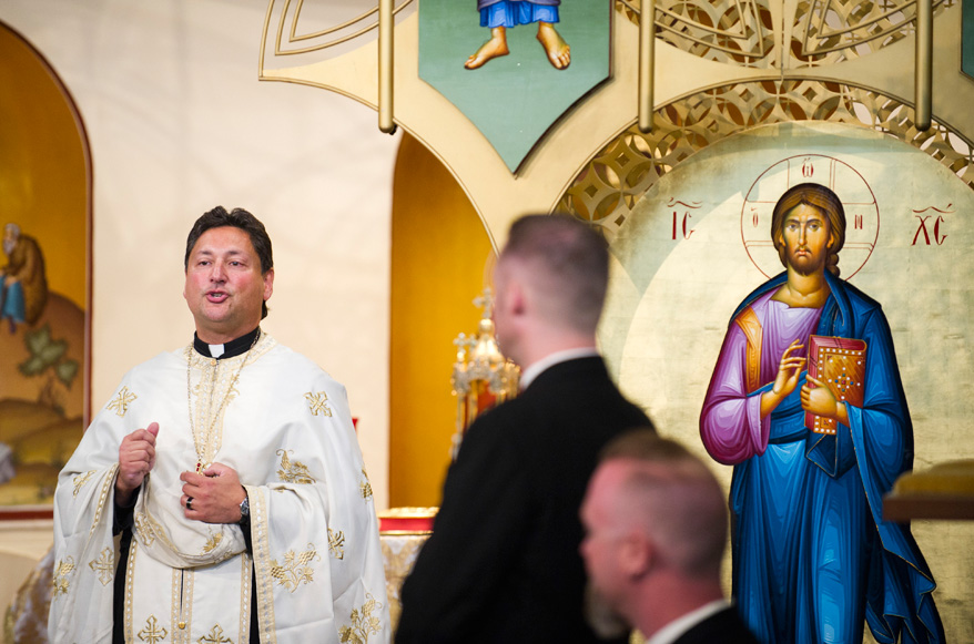 19b Greek Orthodox Wedding Milwaukee Hilton Vegan Non Traditional Gatsby