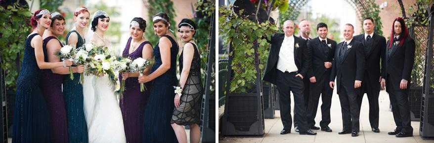 252 Greek Orthodox Wedding Milwaukee Hilton Vegan Non Traditional Gatsby