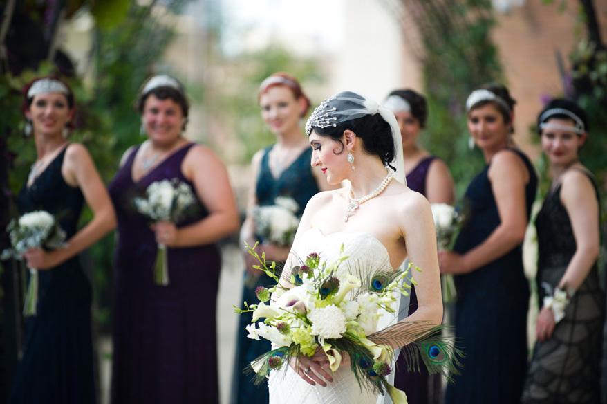 272 Greek Orthodox Wedding Milwaukee Hilton Vegan Non Traditional Gatsby