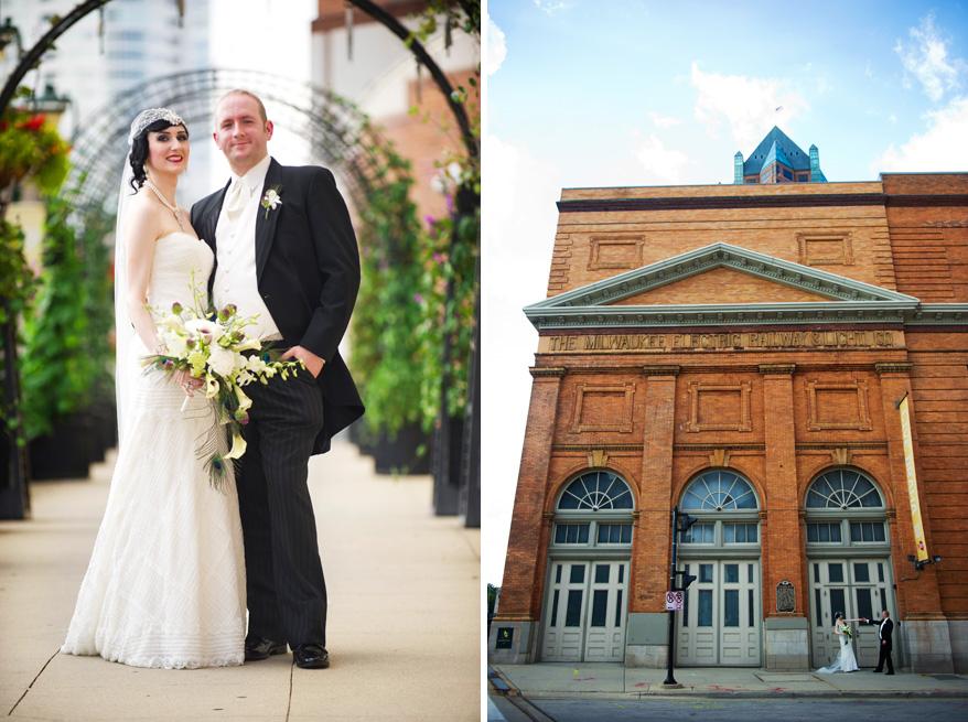313 Greek Orthodox Wedding Milwaukee Hilton Vegan Non Traditional Gatsby