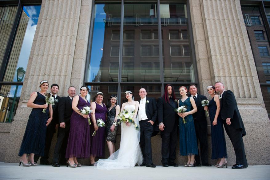 322 Greek Orthodox Wedding Milwaukee Hilton Vegan Non Traditional Gatsby