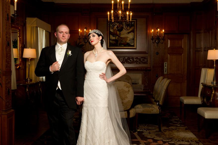 362 Greek Orthodox Wedding Milwaukee Hilton Vegan Non Traditional Gatsby