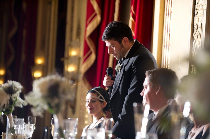 452 Greek Orthodox Wedding Milwaukee Hilton Vegan Non Traditional Gatsby