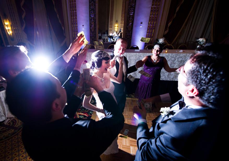 542 Greek Orthodox Wedding Milwaukee Hilton Vegan Non Traditional Gatsby