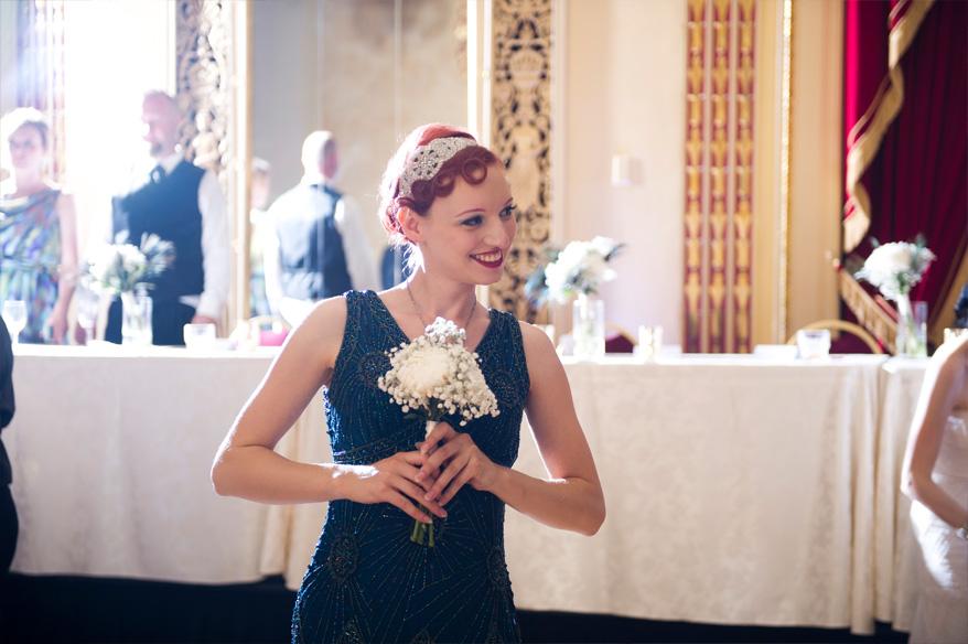 582 Greek Orthodox Wedding Milwaukee Hilton Vegan Non Traditional Gatsby