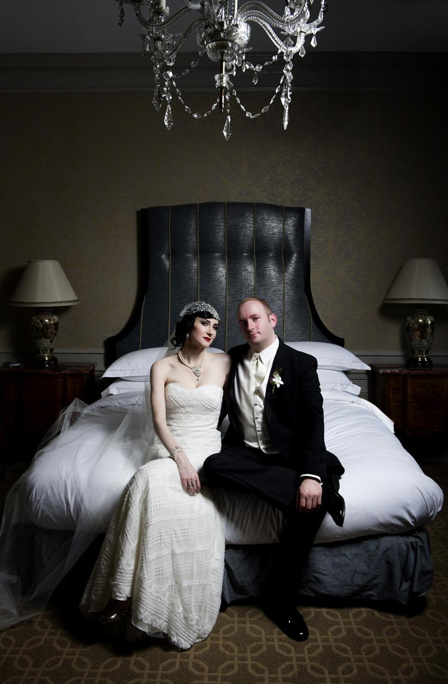 aa1 Greek Orthodox Wedding Milwaukee Hilton Vegan Non Traditional Gatsby