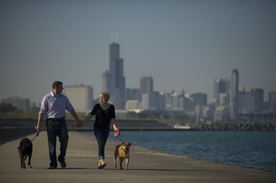 168 Chicago Engagement Photos Milwaukee Photographer   Anna and Matt