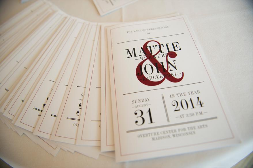 18b Overture Center Wedding Madison   Mattie and John