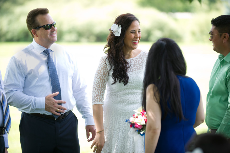 210 Milwaukee Small Lake Front Park Wedding   Non Traditional   Rose and Mike