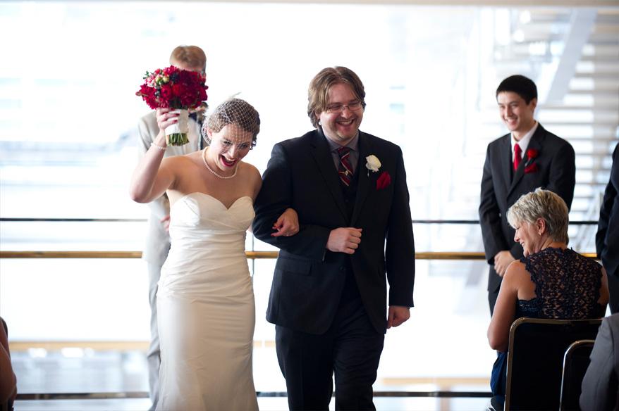 282 Overture Center Wedding Madison   Mattie and John