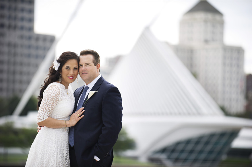 301 Milwaukee Small Lake Front Park Wedding   Non Traditional   Rose and Mike
