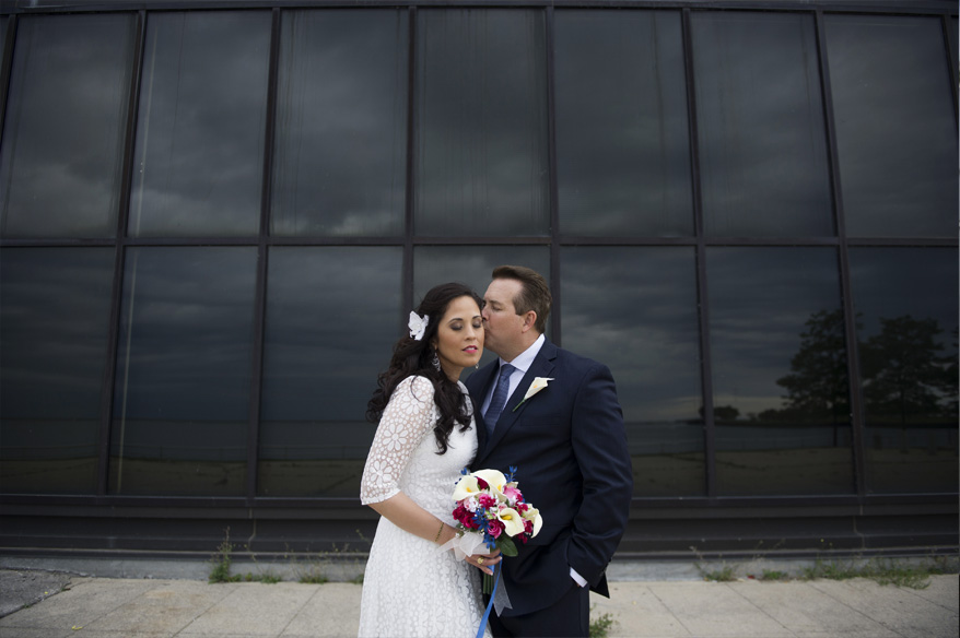 311 Milwaukee Small Lake Front Park Wedding   Non Traditional   Rose and Mike