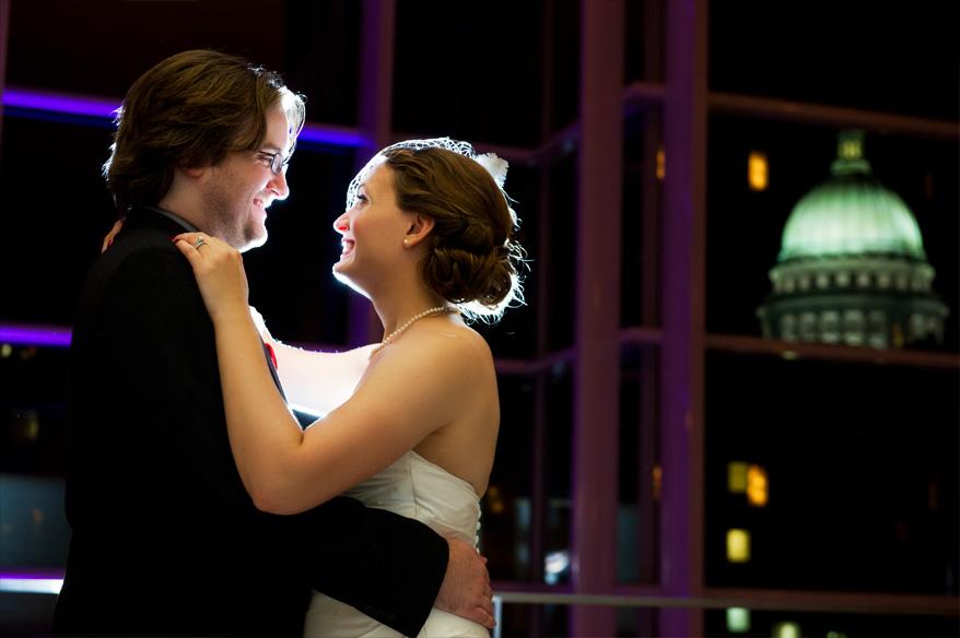451 Overture Center Wedding Madison   Mattie and John