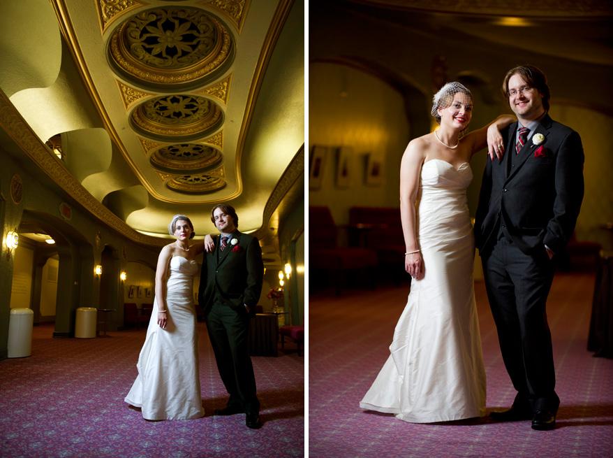 45b Overture Center Wedding Madison   Mattie and John