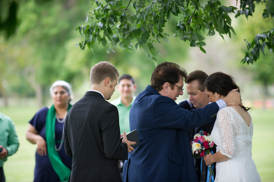 71 Milwaukee Small Lake Front Park Wedding   Non Traditional   Rose and Mike