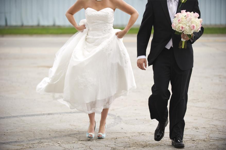 22b Modern Milwaukee Wedding Photographer   Harley Chrome   Grace Church   Karie and Matt