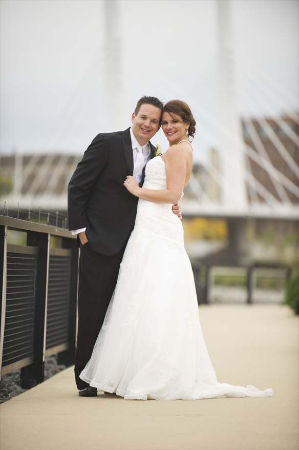27 Modern Milwaukee Wedding Photographer   Harley Chrome   Grace Church   Karie and Matt