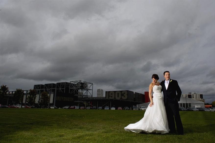 28 Modern Milwaukee Wedding Photographer   Harley Chrome   Grace Church   Karie and Matt