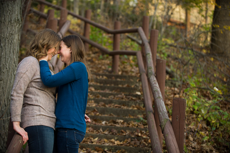 4b Hubbard Park Engagement Session   Kristy and Patricia   LGBT